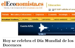 Día del Docence en El Economista